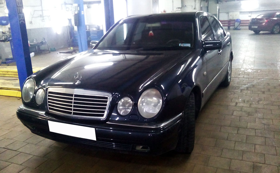ТО Mercedes